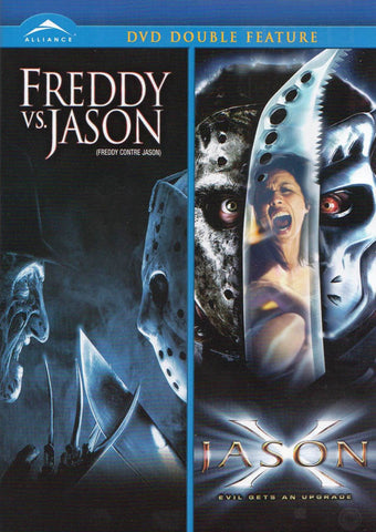 Freddy Vs. Jason / Jason X (Double Feature) (Bilingual) DVD Movie