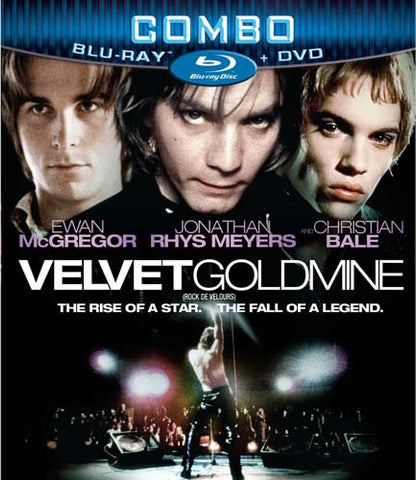 Velvet Goldmine (DVD+Blu-ray Combo) (Blu-ray)(Bilingual) BLU-RAY Movie