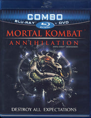 Mortal Kombat - Annihilation (DVD+Blu-ray Combo) (Bilingual) (Blu-ray)