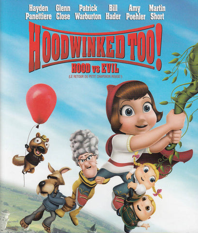 Hoodwinked Too! Hood vs. Evil (Bilingual) (Blu-ray) BLU-RAY Movie