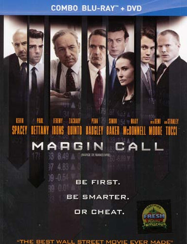 Margin Call (Blu-ray/DVD Combo) (Blu-ray) (DC) (Bilingual) BLU-RAY Movie