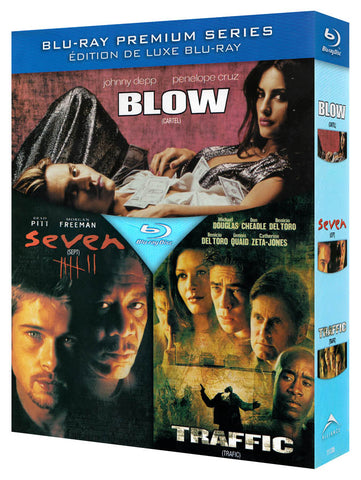 Blow / Traffic / Seven (Blu-ray) (Triple Feature) (Boxset) BLU-RAY Movie
