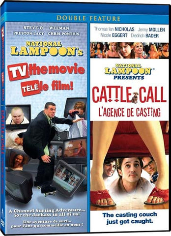 National Lampoon s TV: The Movie/National Lampoon Presents Cattle Call (Double Feature)(bilingual) DVD Movie