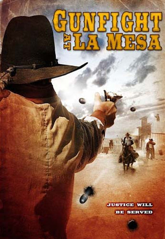 Gunfight at La Mesa DVD Movie