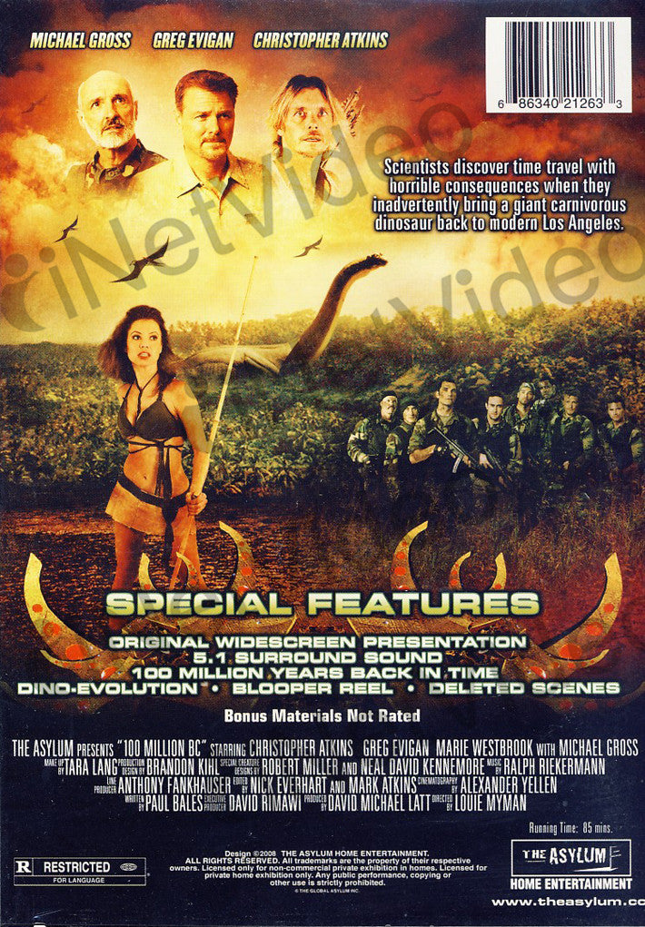 100 Million Bc Limit 1 Copy On Dvd Movie