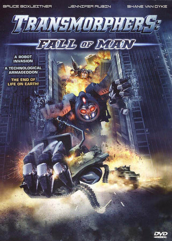 Transmorphers - Fall of Man (CA Version) DVD Movie