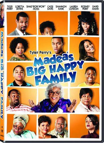 Madea's Big Happy Family DVD Movie