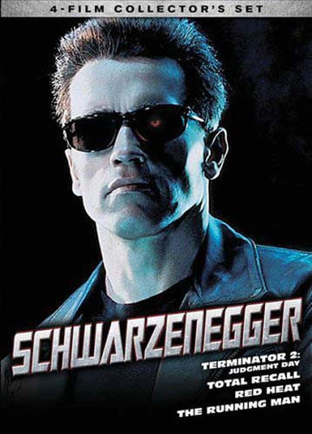 Schwarzenegger - 4 Film Collector's Set (Boxset) DVD Movie