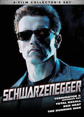 Schwarzenegger - 4 Film Collector's Set (Boxset)
