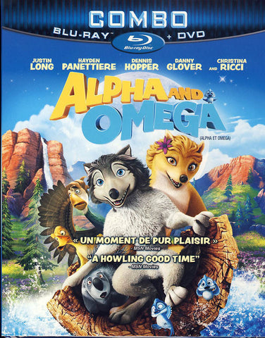 Alpha And Omega (DVD+Blu-ray+Digital Combo) (Bilingual) (Blu-ray) BLU-RAY Movie