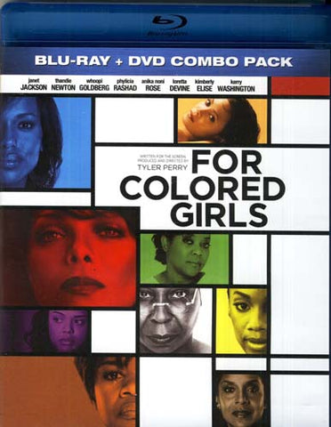 For Colored Girls (Two-Disc Blu-ray/DVD Combo) (Blu-ray) BLU-RAY Movie