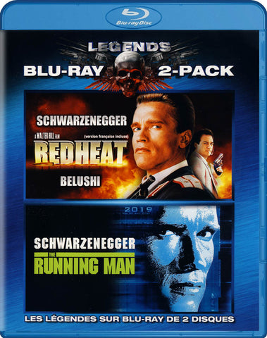 Red Heat / The Running Man (Bilingual) (Blu-ray) BLU-RAY Movie