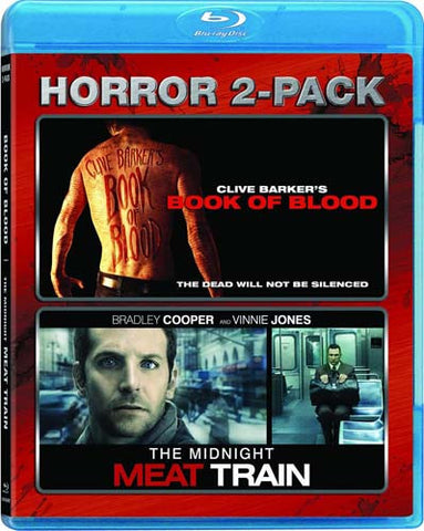 Book Of Blood (Clive Barker's) / Midnight Meat Train (Blu-ray) BLU-RAY Movie