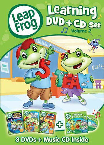 Leap Frog - LearningSet, Volume Two (Three-Disc DVD + CD) (Boxset) DVD Movie