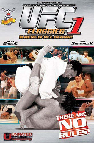 UFC - Ultimate Fighting Championship Classics, Vol. 1 DVD Movie