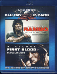 Rambo: The Fight Continues / Rambo - First Blood (Bilingual) (Blu-ray)