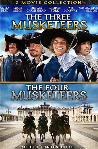 The Three Musketeers/The Four Musketeers (Two-Movie Collection) DVD Movie