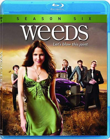 Weeds - Season Six (6) (Blu-ray) BLU-RAY Movie
