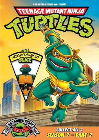 Teenage Mutant Ninja Turtles: Season 7, Pt. 2 - The Michelangelo Slice DVD Movie