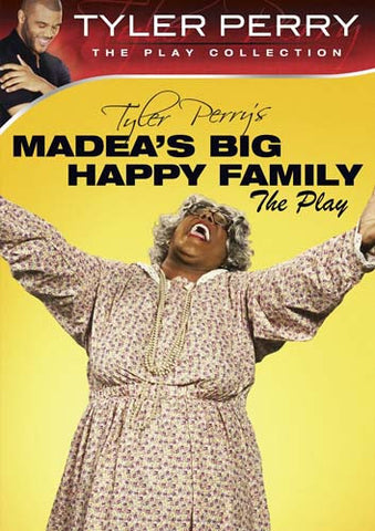 Madea's Big Happy Family - The Play DVD Movie
