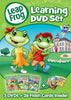 Leap Frog - Learning DVD Set(Let s Go to School/Letter Factory/Talking Words Factory) (Boxset) DVD Movie