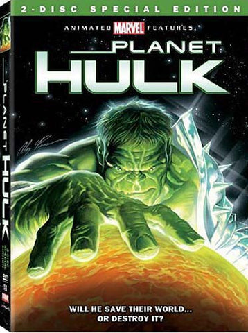 Planet Hulk(Two Disc Special Edition) DVD Movie