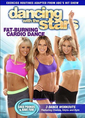 Dancing With the Stars - Fat Burning Cardio Dance (Alliance) DVD Movie