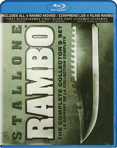 Rambo: The Complete Collector s Set (Bilingual) (Blu-ray) BLU-RAY Movie