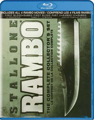 Rambo: The Complete Collector s Set (Bilingual) (Blu-ray)