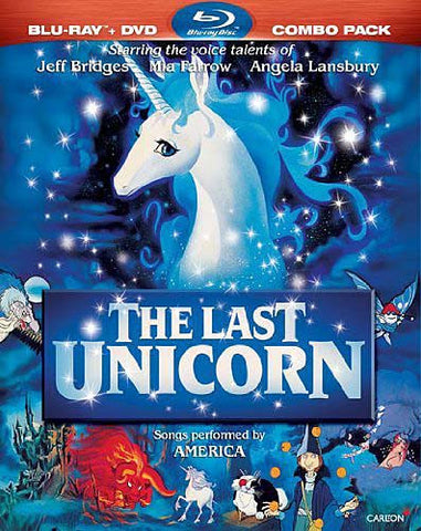 The Last Unicorn (Two-Disc Blu-ray/DVD Combo) (Blu-ray) (Slipcover) BLU-RAY Movie