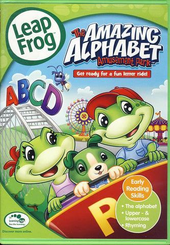 Leap Frog - The Amazing Alphabet Amusement Park (LG) DVD Movie