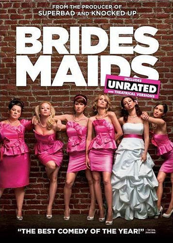 Bridesmaids (Includes Unrated and Theatrical Versions) DVD Movie