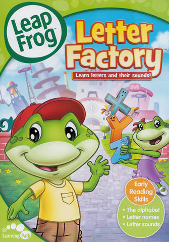 Leap Frog - Letter Factory (Learn Letters And Their Sounds) (Alliance) DVD Movie
