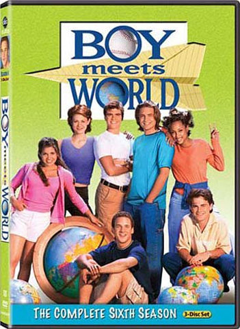 Boy Meets World - The Complete (6th) Sixth Season (Boxset) DVD Movie