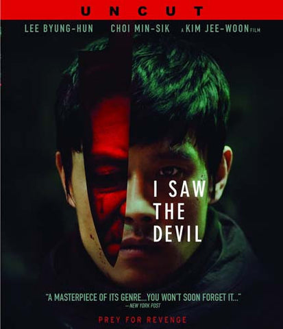 I Saw the Devil (Uncut) (Blu-ray) BLU-RAY Movie
