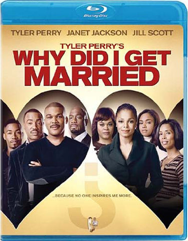 Why Did I Get Married (Tyler Perry's) (Blu-ray) BLU-RAY Movie