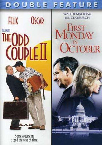 The Odd Couple 2 (II) / First Monday in October (Double Feature) DVD Movie