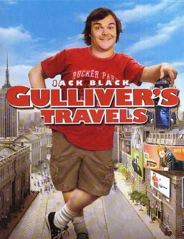 Gulliver's Travels (Jack Black) DVD Movie