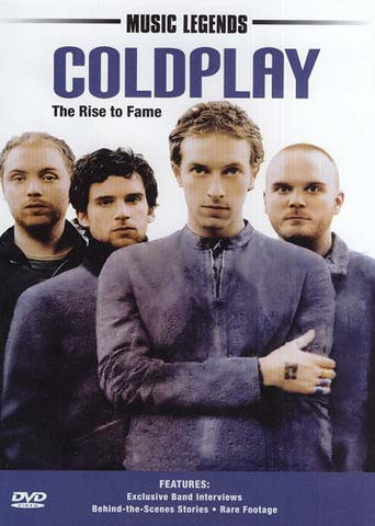 Music Legends - Coldplay (The Rise To Fame) DVD Movie