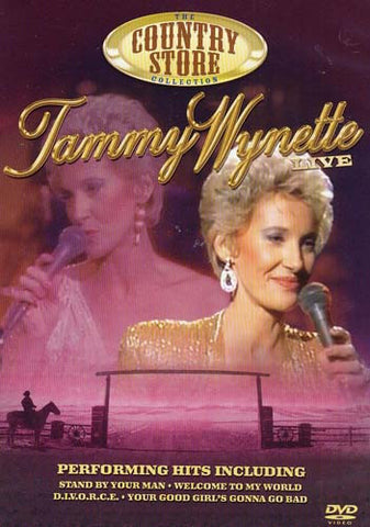 Tammy Wynette Live DVD Movie
