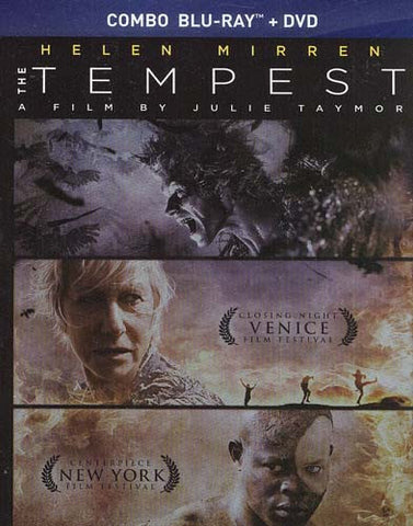 The Tempest (DVD+Blu-ray Combo) (Blu-ray) (Slipcover) BLU-RAY Movie