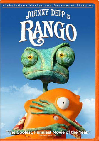 Rango DVD Movie