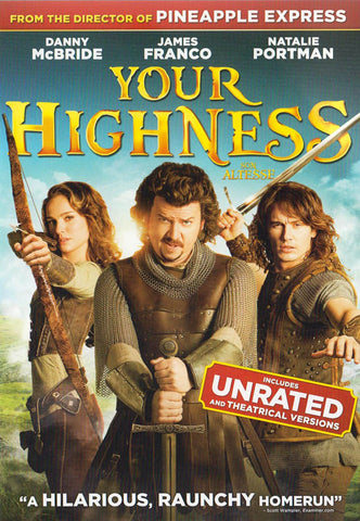 Your Highness (Unrated And Theatrical Versions) (Bilingual) DVD Movie
