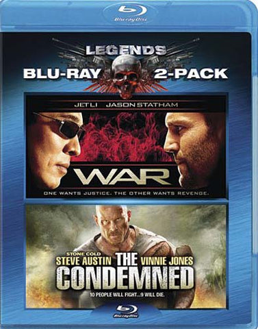 War / The Condemned (Blu-ray) BLU-RAY Movie