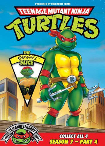 Teenage Mutant Ninja Turtles - Season 7, Part. 4 - The Raphael Slice DVD Movie