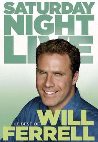 Saturday Night Live - The Best of Will Ferrell (Featuring Alec Baldwin, Jim Carrey And More) DVD Movie