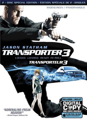 Transporter 3 (Two-Disc Fully Loaded Edition) (Widescreen) DVD Movie