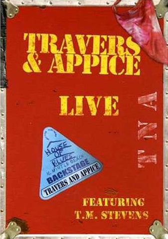 Travers And Appice - live DVD Movie