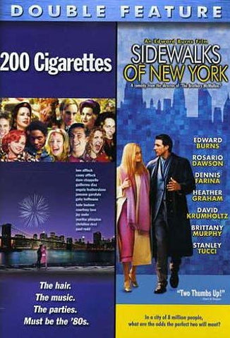 200 Cigarettes/Sidewalks of New York (Double Feature) DVD Movie
