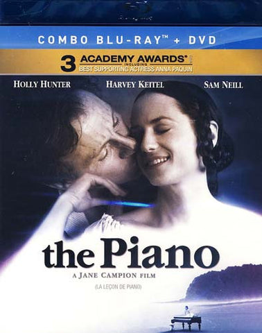 The Piano (DVD+Blu-ray Combo) (Bilingual) (Blu-ray) BLU-RAY Movie